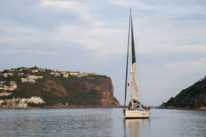 Sailing in Knysna