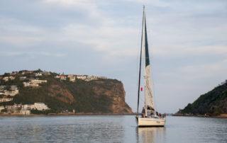 Sailing in Knysna